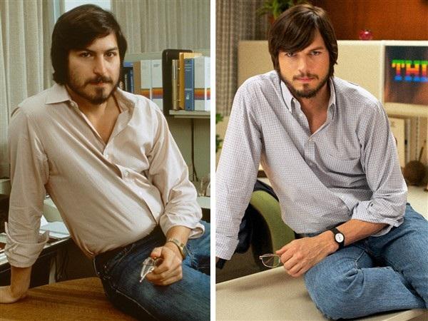 """Ashton Kutcher vào vai doanh nhân nổi tiếng người Mỹ Steve Jobs trong """"Jobs"""" (2013)."""