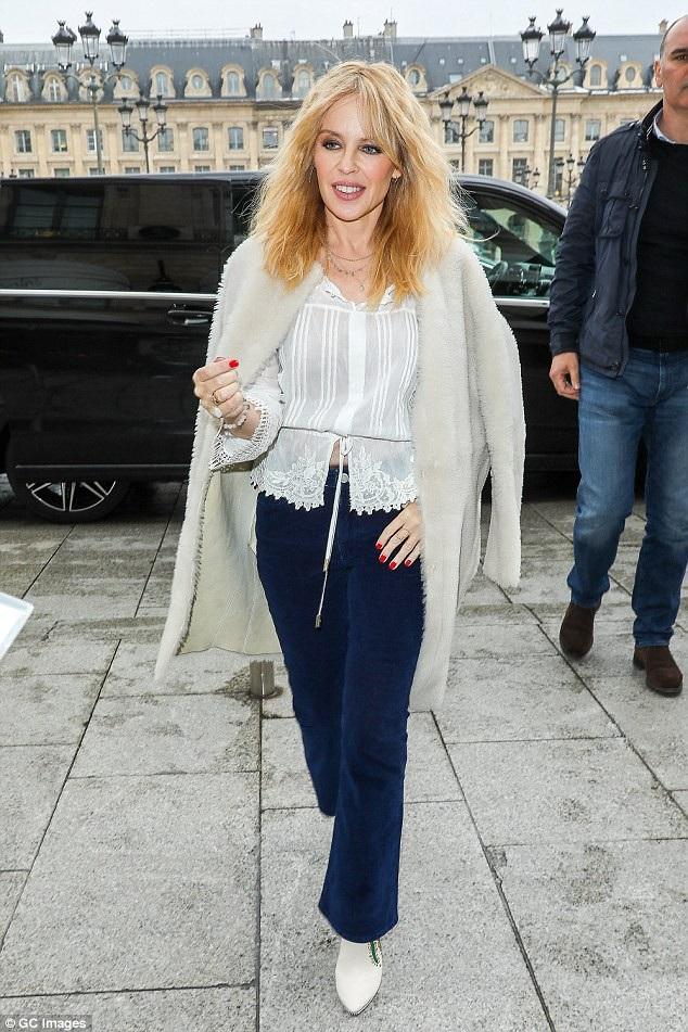 Nữ ca sĩ người Úc Kylie Minogue (49 tuổi)