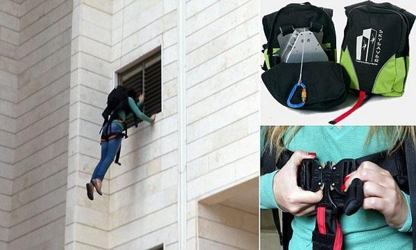 Cách sử dụng balo thoát hiểm (Nguồn: Internet)
