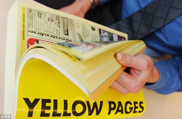 Đã từng có thời các cơ quan, văn phòng, hộ gia đình đều sở hữu cuốn Những trang vàng để tìm kiếm số điện thoại.