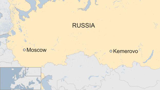 Bản đồ khu vực xảy ra đám cháy (Ảnh: BBC)