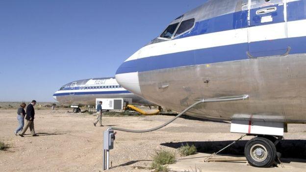 Mô mình máy bay Boeing tại trường đào tạo (Ảnh: Getty)