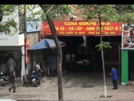 Sự việc các nhân viên tại gara ô tô Quang Vinh (Xã Đàn, Đống Đa, Hà Nội), trộm cắp tiền của khách hàng diễn ra trong thời gian dài.