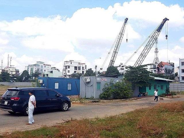 Khu đất dự kiến triển khai dự án khủng đang xảy ra lùm xùm ở TPHCM (Ảnh: PLO).