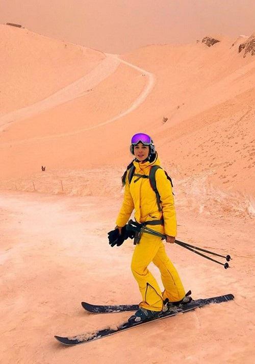 Hiện tượng 5 năm có một lần: Tuyết màu cam khiến Đông Âu tựa như Sao Hỏa - 7
