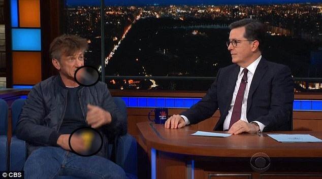 Tài tử Sean Penn đã châm thuốc hút khi xuất hiện trong chương trình talkshow truyền hình vào tối thứ 2 vừa qua. Ngay sau đó, hành động này đã gây tranh cãi trên mạng xã hội, đồng thời, nhiều tờ tin tức đã đề cập đến sự việc.