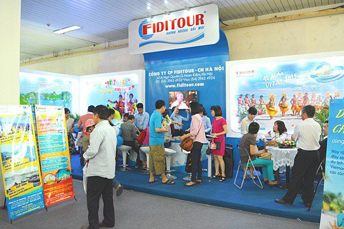Du lịch chất cùng Fiditour tại hội chợ VITM Hà Nội 2018 - 1