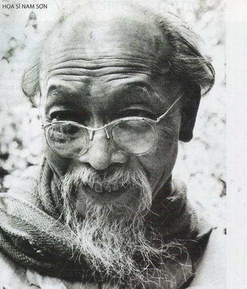Chân dung cố hoạ sĩ Nam Sơn - Người đã có nhiều đóng góp đối với nền Mỹ thuật Đông Dương.