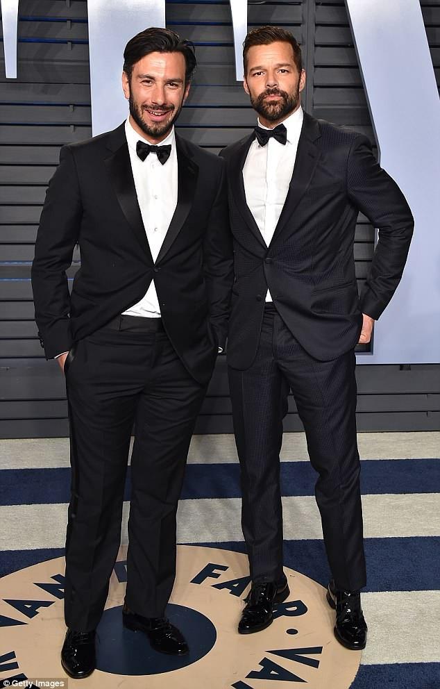 Ca sỹ Ricky Martin vừa tiết lộ với tạp chí Attitude nhiều chuyện thú vị về mối tình của anh với chồng hiện tại - họa sỹ Jwan Yosef