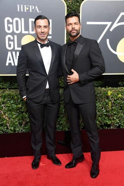 Cặp đôi đã kết hôn và hiện chung sống cùng hai con trai của Ricky Martin