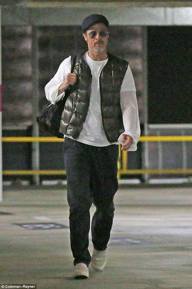 Brad Pitt gầy và già hơn kể từ khi chia tay với Angelina Jolie.