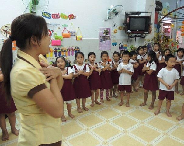 Ông Nguyễn Bá Minh, Vụ trưởng Vụ Giáo dục Mầm non (Bộ GD&ĐT) cho biết, việc tồn tại nhóm lớp mẫu giáo độc lập tư thục vượt trên 50 trẻ là cần thiết. (Ảnh minh họa)
