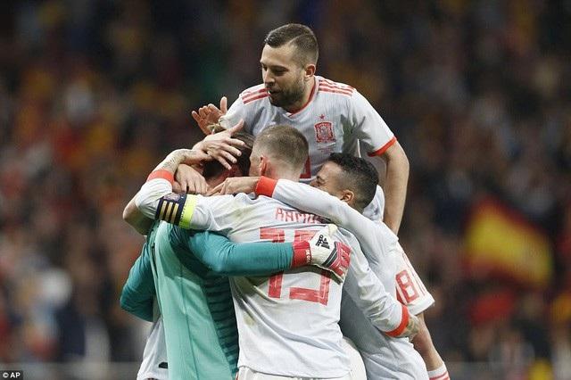 Tây Ban Nha đã hình thành xong bộ khung dự World Cup 2018