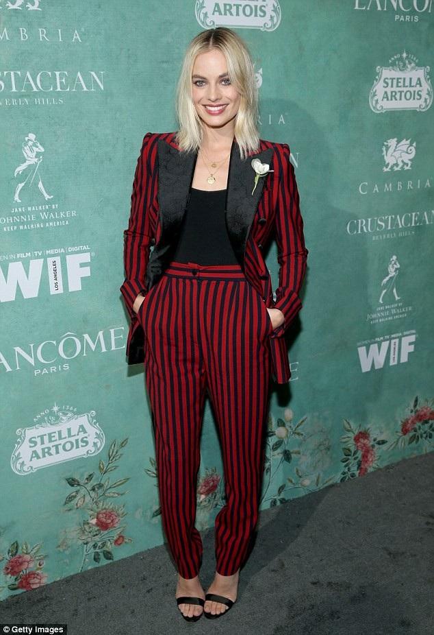 Nữ diễn viên được đề cử giải Oscar Margot Robbie