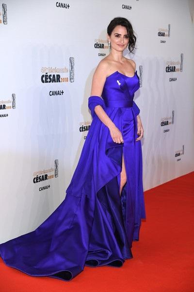 Penelope Cruz xinh đẹp dự lễ trao giải Cesar diễn ra tại Paris, Pháp ngày 3/3 vừa qua