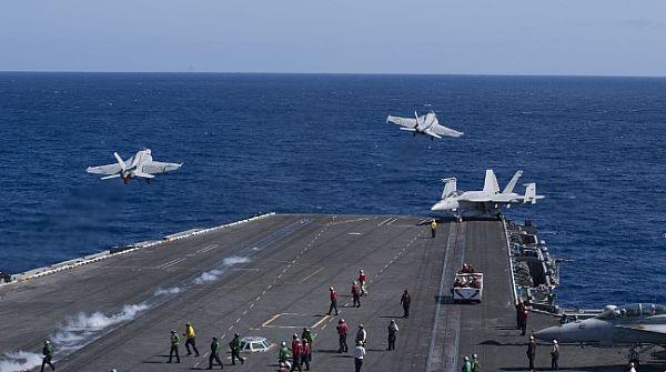 Trong lịch trình di chuyển, tàu đã băng qua Thái Bình Dương thực hiện một số nhiệm vụ.