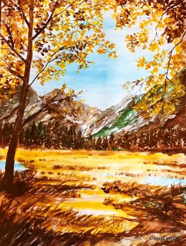 Cuộc sống tươi đẹp qua tranh vẽ của chàng bác sỹ 9x - 16