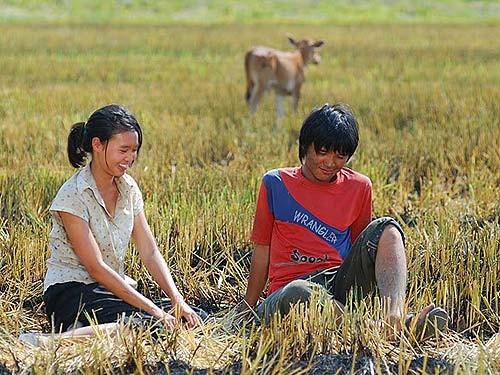 Cùng với Ninh Dương Lan Ngọc, Võ Thanh Hòa cũng được xem là gương mặt mới của phim điện ảnh.