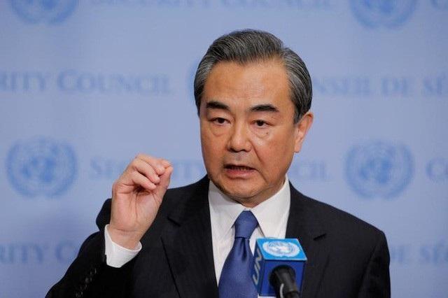 Ủy viên Quốc vụ viện, Bộ trưởng Ngoại giao Trung Quốc Vương Nghị (ảnh: Reuters)