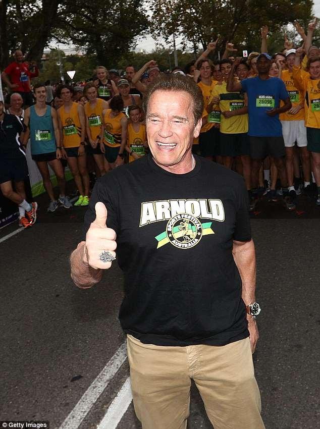 Arnold Schwarzenegger trong bức ảnh chụp ngày 18/3 vừa qua. Trong tuần này, ông đã vừa trải qua một ca phẫu thuật tim khẩn cấp sau khi một van tim gặp vấn đề.