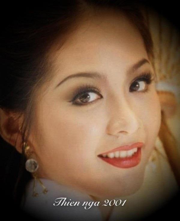 Vẻ đẹp rực rỡ của Hoa hậu cách đây 17 năm.