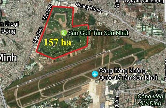 Việc mở rộng sân bay Tân Sơn Nhất về phía nam sẽ giảm thiểu được số đất bị thu hồi