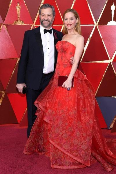 Judd Apatow và Leslie Mann