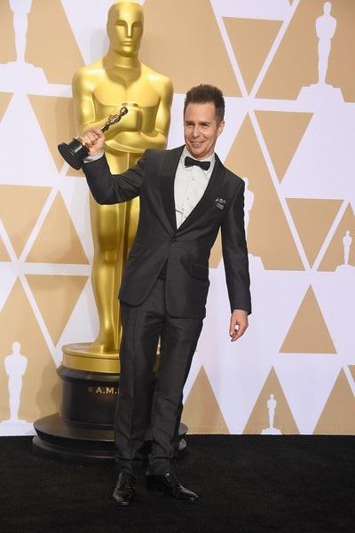 Sam Rockwell, 49 tuổi, lần đầu giành giải Oscar