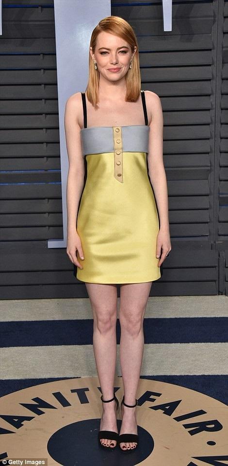 Emma Stone - nữ diễn viên giành giải Oscar năm ngoái
