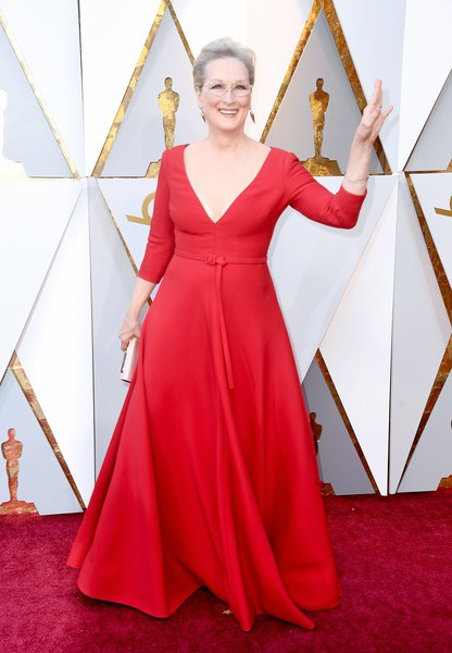Người đẹp dập dìu khoe dáng trên thảm đỏ Oscar - 49