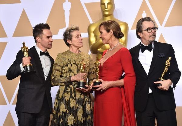 Trước khi nhận giải Oscar - họ đã nhận nhiều giải thưởng danh giá khác trong năm 2018 này