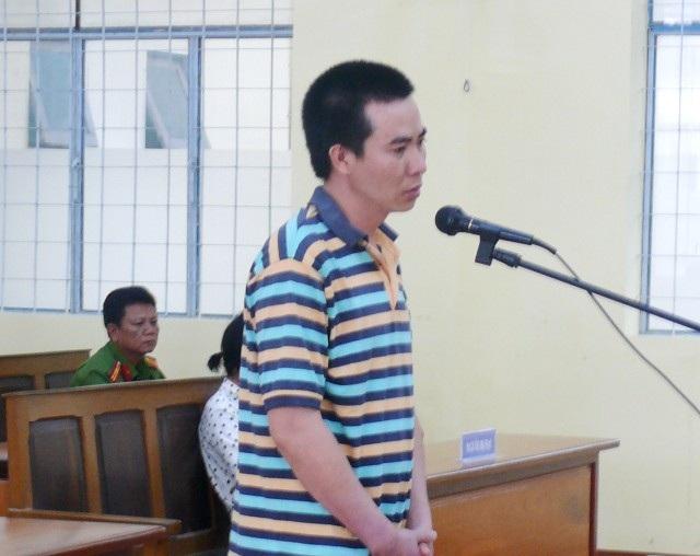 Bị cáo Nguyễn Minh Út tại tòa. (Ảnh: CTV)