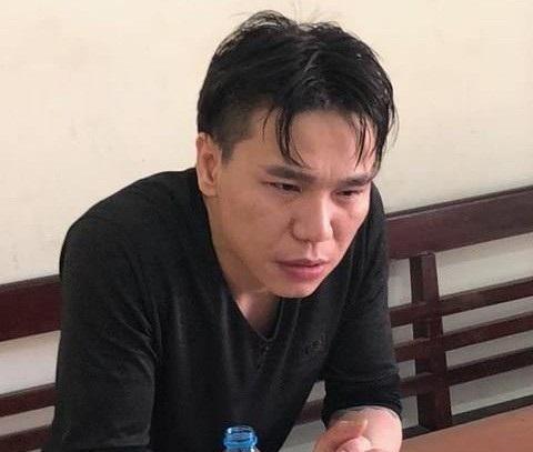 Ca sĩ Châu Việt Cường tại Cơ quan công an.