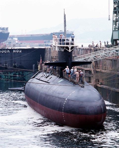 Tàu ngầm diesel - điện lớp Barbel của Hải quân Mỹ là mẫu mực của tàu ngầm tấn công hiện đại với thiết kế hình giọt nước đi trước thời đại
