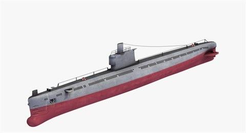 Tàu ngầm thông thường lớp Romeo của Hải quân Liên Xô