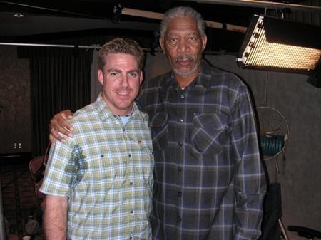 """Morgan Freeman thì lúc nào cũng """"ngầu"""""""