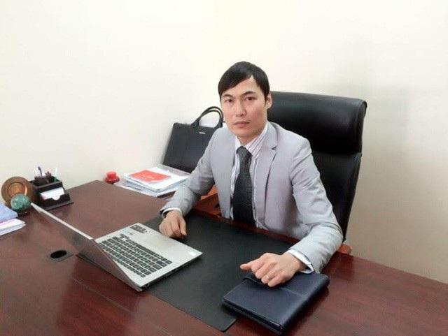 Luật sư Quách Thành Lực Giám đốc Công ty Luật TNHH Hà Nội Tinh Hoa.