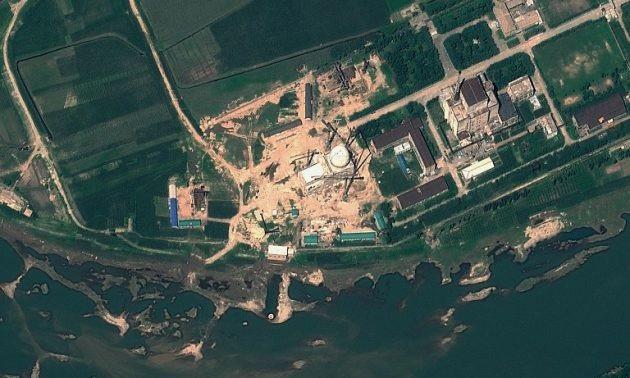 Trung tâm thử nghiệm khoa học hạt nhân Yongbyon (Ảnh: AFP)