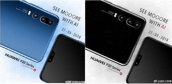 Hình ảnh được Huawei chia sẻ cho thấy cách bố trí của 3 camera ở mặt sau sản phẩm