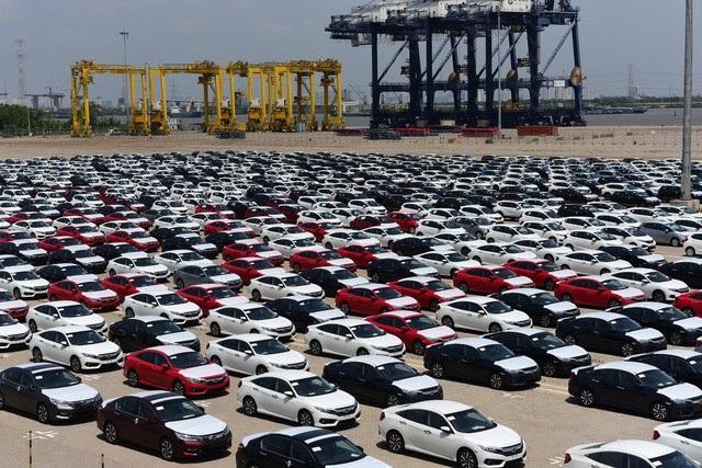 Theo thống kê của hải quan, tuần qua chỉ có Honda Việt Nam nhập được xe nguyên chiếc về nước