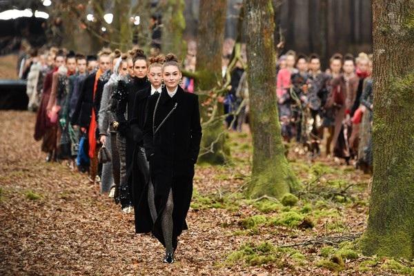 Show diễn thời trang giữa khu rừng - 14