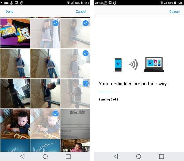 Thủ thuật chuyển file ảnh từ smartphone sang máy tính không cần cáp kết nối - 7