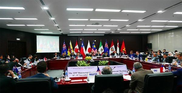 Hiệp định CPTPP được ký kết (ảnh: Xuân Ngọc)