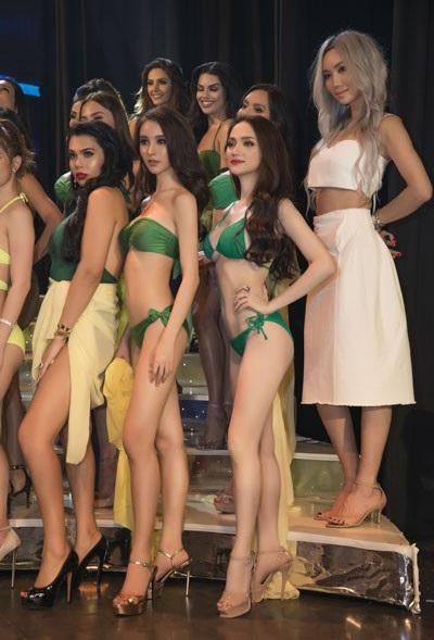 Hương Giang trình diễn điêu luyện trong phần thi bikini - 5