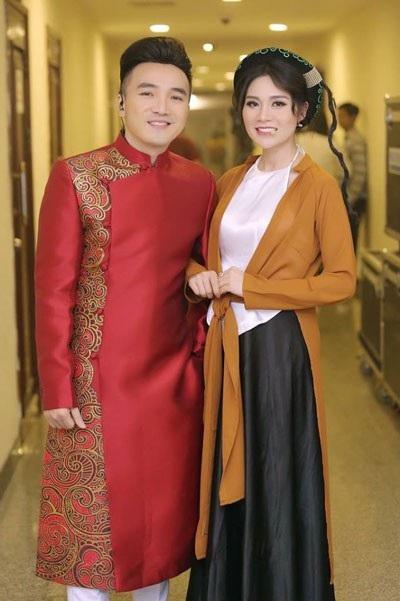 Thu Trang và Dương Ngọc Thái.