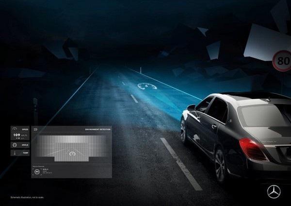 Trình chiếu biểu tượng cảnh báo tốc độ khi phát hiện thấy bảng giới hạn tốc độ