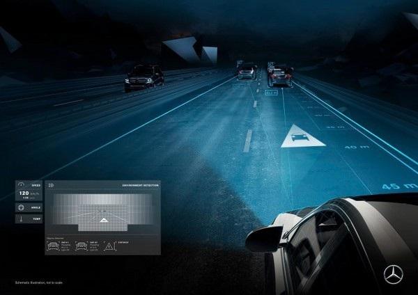 Cảnh báo khoảng cách khi phát hiện xe di chuyển gần xe khác với tốc độ nhanh