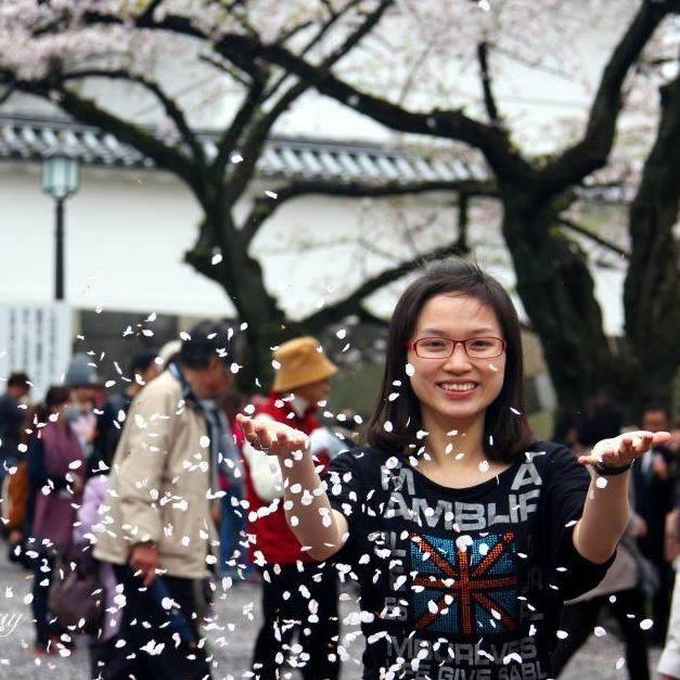 Trần Thị Hương Giang – cựu du học sinh tại Nhật chuyên ngành kinh tế đối ngoại.