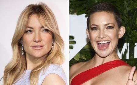 Hồi năm ngoái, Kate Hudson đã phũ phàng nói lời tạm biệt với mái tóc dài óng ả để cắt tóc ngắn cá tính nhằm phục vụ cho vai diễn mới.