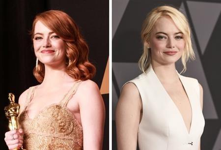 """Emma Stone đã dần trở thành biểu tượng sắc đẹp tại Hollywood và dù biến hóa với đủ mọi sắc màu, nữ diễn viên phim """"La la land"""" lúc nào cũng xinh đẹp cuốn hút."""